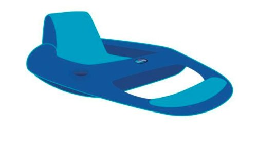 Pool Slides:Swimways springtime Float recliner chair - Blue/Teal Images