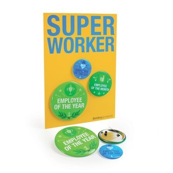 Super Buttons SUPER WORKER von Donkey Products