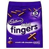 Cadbury Mini Fingers Mini Bags 5 X 22G
