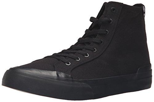 HUF Men's Classic Hi Ess TX Skate Shoe, Black/Black, 10.5 M US