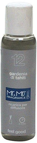 Mr&Mrs easy fragrance 012 Pacific Ocean gardenia di tahiti 詰め替えボトル100ml