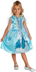 Toddler Girl's Costume: Cinderella Sparkle Classic- 3T-4T