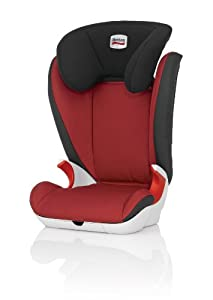 Britax KID II Group 23 4 - 12 Years High-Backed Booster Car Seat (Chili Pepper)