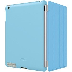 ILUV ICC822BLU IPAD(R) 2 FLEX-GEL CASE FOR SMART COVER (BLUE)