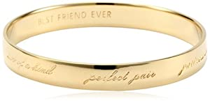 "kate spade new york ""Best Friend Ever"" Bridesmaid Idiom Bangle Bracelet"