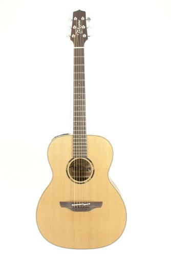 Takamine Pro Series Etn70 Om Acoustic Electric Guitar, Natural With Case