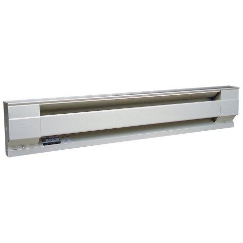 Cadet Manufacturing 09956 240-Volt White Baseboard Hardwire Electric Zone Heater, 1500-Watt, 72-Inch