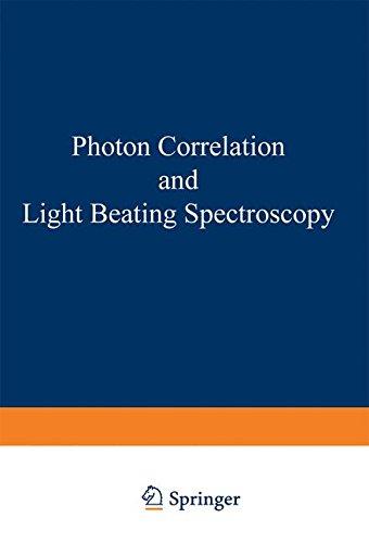 Photon Correlation And Light Beating Spectroscopy (Nato Science Series B:)