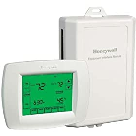 Honeywell VisionPro IAQ Touchscreen 7-Day Programmable Thermostat, Version 2
