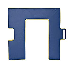 Foamnasium Foam Home Front Door, Red/Blue/Yellow