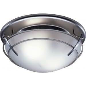 broan 757sn bathroom fan80 cfm satin nickel decorative fan w light. Black Bedroom Furniture Sets. Home Design Ideas