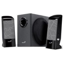 Genius SW-J2 2.1 Lautsprecher-System mit Subwoofer für PC Multimedia
