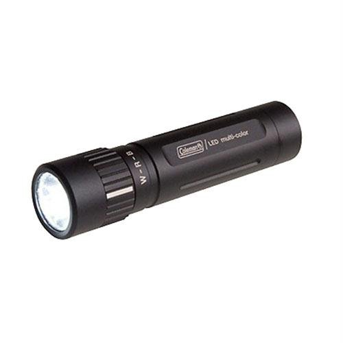 Coleman Company Led Multi-Color Flashlight, Black