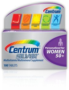 Centrum Silver Women 50+ 100 tabs(Pack Of 2)