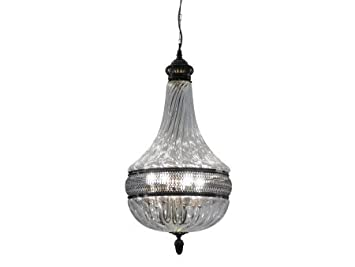 Artisanti Glass Teardrop Chandelier - Large