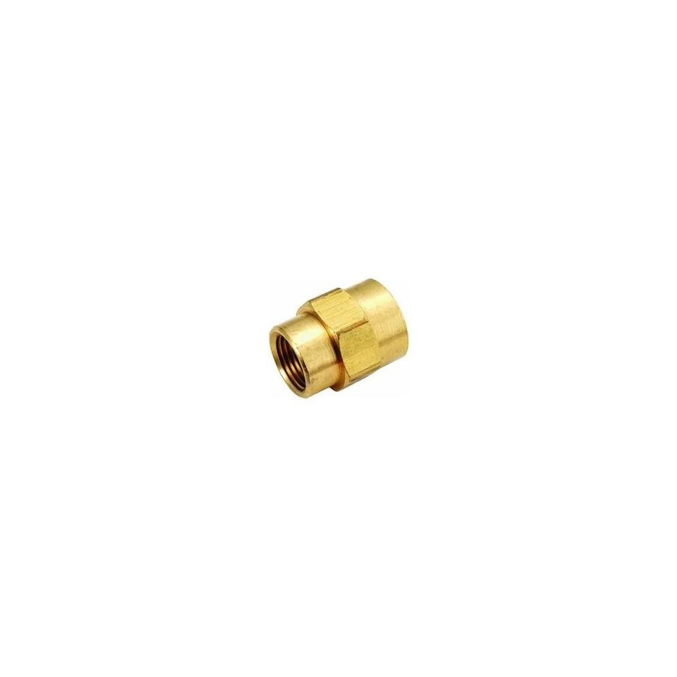 Anderson Metals Corp 756119 0802 Brass Reducing Coupling 1/2x1/8