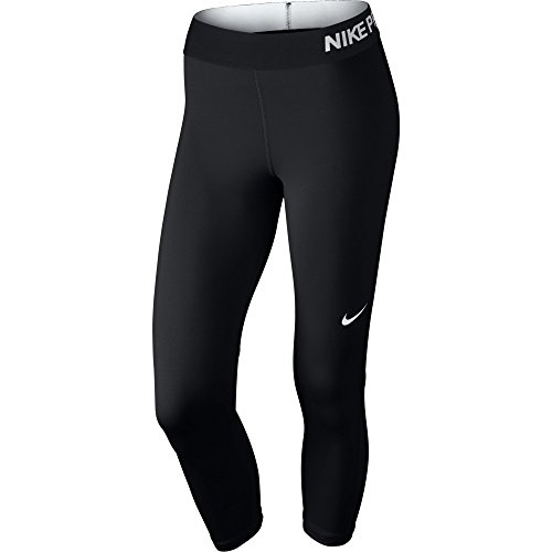 Nike Womens Pro Cool Training Capris Black/White 725468-010 Size Medium
