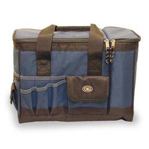 Tool Tote/Cooler Bag, 6 Cans, Blue/Black front-1055020