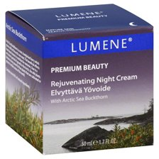 Lumene Premium Beauty Rejuvenating Night Cream, Mature Skin 1.7 fl oz (50 ml)