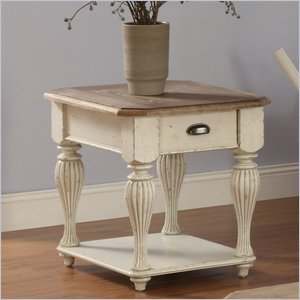 Buy Low Price Coventry Two Tone 28 in. Rectangular End Table (B006JJKVPK)