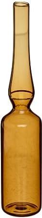 Wheaton Amber Glass Prescored Ampule