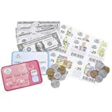 Play Money Shopping Set 100 Pieces/Money/Coupons/Credit Cards ~ just like home