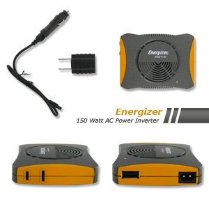 Energizer 150 Watt AC Mobile Power Inverter with USB (12V-DC to 120V-AC) at Sears.com