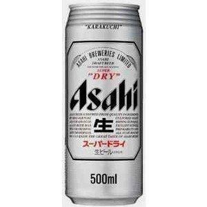 アサヒ スーパードライ 500ml×24本