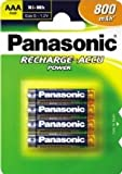 Panasonic P-03P/4BP 800mAh AAA Size 800mAh Rechargeable Batteries (4x)