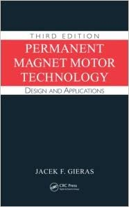 Permanent Magnet Motor Technology Design And Applications