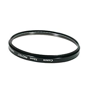 Canon Protection 72 mm : Filtre neutre pour protéger la lentille frontale de l'objectif F72REG