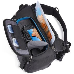 Main compartment of the Case Logic DSS-101 Luminosity CSC/DSLR Sling