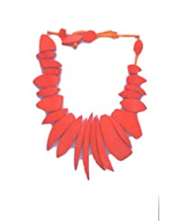 V3 Craft's Resin Beads With Cotton Chord Necklace For Women