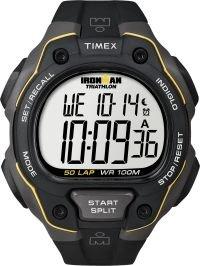 Timex Ironman 50-Lap Unisex T5K494 Watch Resin Band Digital