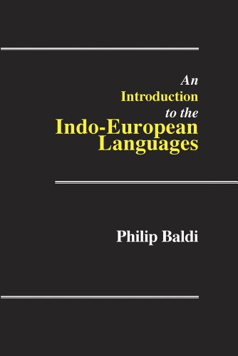 An Introduction to the Indo-European Languages