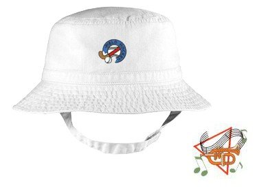 Embroidered Infant Bucket Cap with the image of: flugelhorn