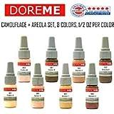 CHOOSE 4 Permanent Makeup Pigment SETS Ink Color Cosmetic Micropigmentation SET (Camouflage/ Areola Set) (Color: Camouflage/ Areola Set)
