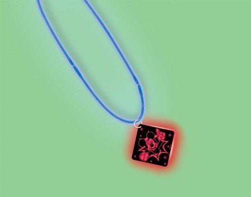Mickey Mouse Glow Necklace with Pendant