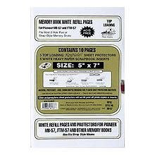 Genuine Pioneer double 5x7 refill pages for your pocket album sold in 2's - 5x7