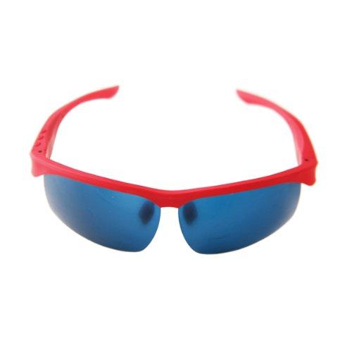 Polarized Sunglasses Aviator Wayfarer Bluetooth Headset Headphone Men Women Sun Glasses (Red)