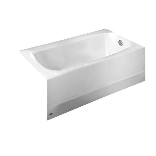American Standard 2461.002.020 Cambridge 5-Feet Bath Tub with Right-Hand Drain, White (Soaking Bath Tub compare prices)
