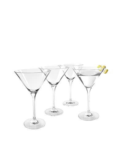 Set of 4 Veritas 7-Oz. Martini Glasses, Clear