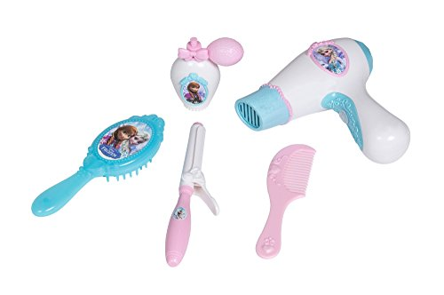 Smoby Frozen Beauty Bag - juguetes de rol para niños (Make-up & beauty, Chica, Azul, Rosa, Color blanco, AAA)