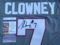 Jadeveon Clowney signed South Carolina USC Gamecocks gray jersey JSA COA