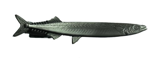 Aphrodite (アフロディーテ) ネクタイピン 魚 サンマ 秋刀魚 合金銀色 日本製