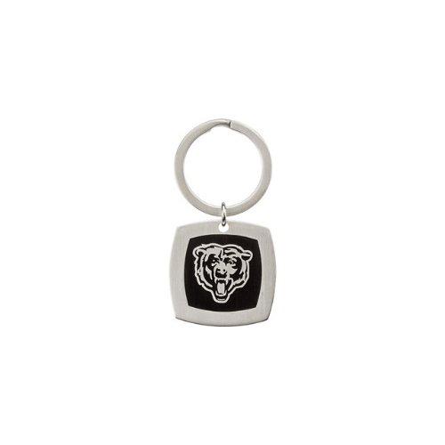 24600 St Steel 35mm Chicago Bears Logo Keychain Football NFL Men Team Jewelry