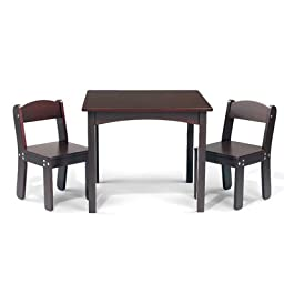 WonkaWoo Deluxe Childrens Table and Chair Set