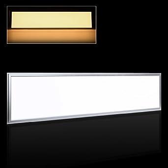 auralum 120x30cm 54w smd 2835 warmwei ultraslim d nn einbau leuchte led panel deckenleuchte. Black Bedroom Furniture Sets. Home Design Ideas