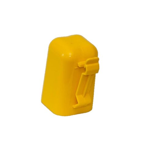 Fi-Shock ITCPY-FS T-Post Safety Cap and Insulator, Yellow