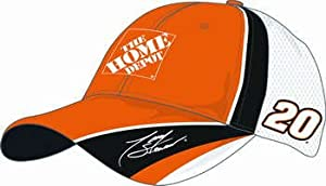 2008 Tony Stewart #20 Home Depot Official Adjustable Velcro Cap by Chase Authentics by Chase Authentics